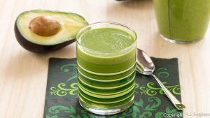 Avocado-Feldsalat-Smoothie
