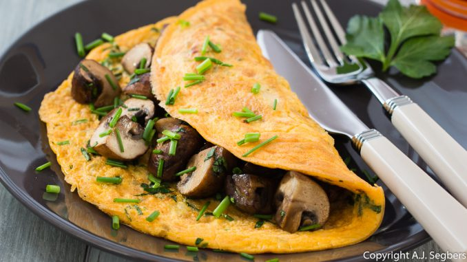 rezepte omlette mit champignons gesund essen free from. Black Bedroom Furniture Sets. Home Design Ideas