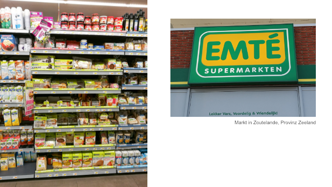 Supermarkt in Holland