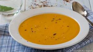 Butternut-Süßkartoffel-Suppe